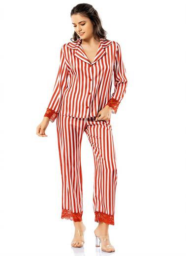 Loriva Pijama Takım Kiremit